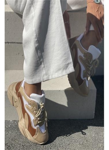 İnan Ayakkabı BAYAN SNEAKERS Ten